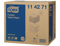 Toalettpapper Tork Advanced T3 8712st/kt